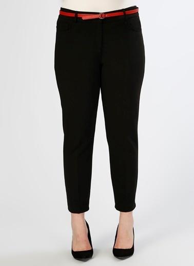 Ekol Kısa Paça Pantolon Siyah